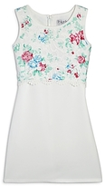 Blush by Us Angels Girls' Floral Bodice Dress - Big Kid