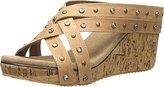 Volatile Women's Basketry Wedge Sandal