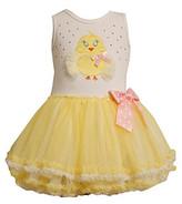 Bonnie Jean Baby Girls' Yellow Chicken Tutu Dress