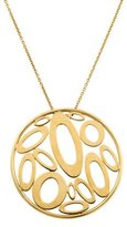 Roberto Coin Round Disc Pendant Necklace