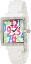 Invicta Women's 10266 Ceramics Diamond Accented Dial Ceramic Watch