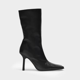 Miista Boots Noor In Black Smooth Leather