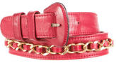 Chanel Embellished Lambskin Belt