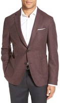 BOSS Men's 'Nold' Trim Fit Wool Blend Blazer