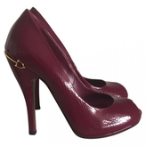 Gucci Purple Patent leather Heels