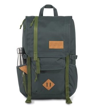 JanSport Backpack Hatchet Dark Slate New Olive