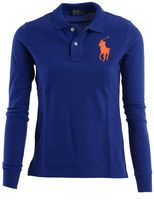Ralph Lauren Long Sleeves Polo Short With Two Buttons
