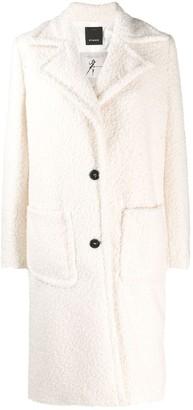 Pinko Faux-Shearling Coat