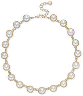 Charter Club Gold-Tone Imitation Pearl Necklace, Only at Macy's