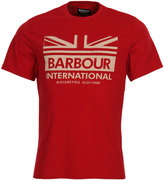 Barbour Internional T-Shirt Red MTS0321 RE33