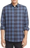 Theory Plaid Slim Fit Button-Down Shirt