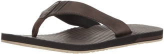 Volcom Men's Fader Faux Leather Sandal