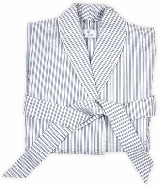 Matouk Matteo Stripe Robe