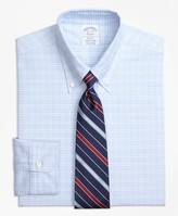 Brooks Brothers Original Polo Button-Down Oxford Regent Fitted Dress Shirt, Plaid