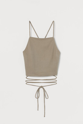 H&M Open-back Camisole Top