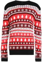 Urban Classics CHRISTMAS CREWNECK Jumper red/white/black