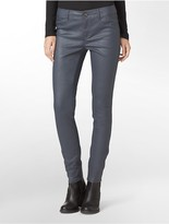 Calvin Klein Wax Coated Powerstretch Jeggings