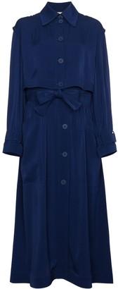 Stella McCartney Elasticated Waist Trench Coat