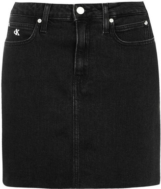 Calvin Klein Jeans High Rise Mini Skirt