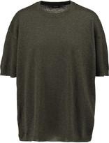 Joseph Metallic cashmere-blend sweater