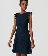 LOFT Tall Lace Flutter Dress