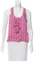 RED Valentino Printed Sleeveless Top