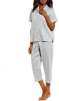 Cabernet Cloud Dot Sateen Pajamas