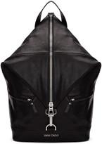 Jimmy Choo Black Fitzroy Backpack