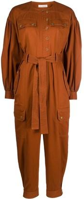 Ulla Johnson Belted Cotton Jumpsuit