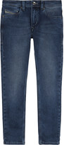 Diesel Tepphar slim carrot denim jeans 6-16 years