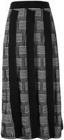 Kenzo 'NY Stripes' knit skirt