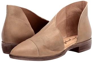 Free People Royale Flat (Brown) Women's Flat Shoes