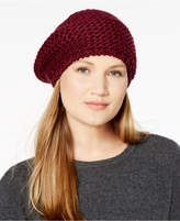 INC International Concepts I.n.c. Shine Stitch Beret, Created for Macy's