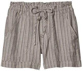 Prana Arlie Shorts (Chalkboard Stripe) Women's Shorts