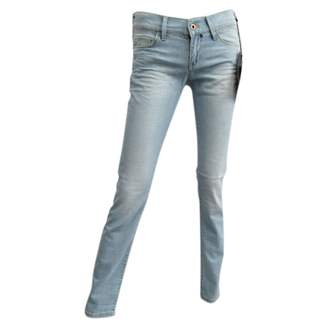 N. Non Signé / Unsigned Non Signe / Unsigned \N Blue Cotton - elasthane Jeans