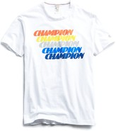 Todd Snyder + Champion Champion Repeater Graphic Tee in White