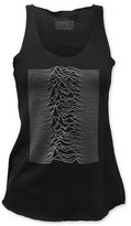 Impact Joy Division Rock Band Music Group Unknown Pleasures Juniors Racerback Tank Top