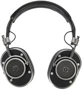 Master & Dynamic - over the head headphones - unisex - Calf Leather/Silver Plated Metal - One Size