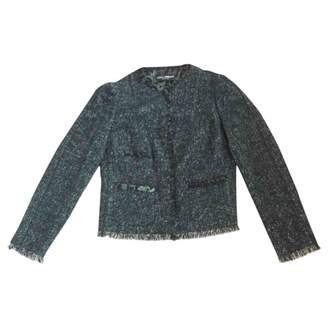 Dolce & Gabbana Green Wool Jackets