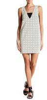 Rachel Roy Laser Cut Cocoon Dress