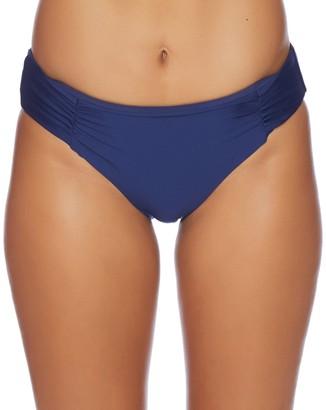 Athena Women's Shirr Side Hipster Swimsuit Bikini Bottom