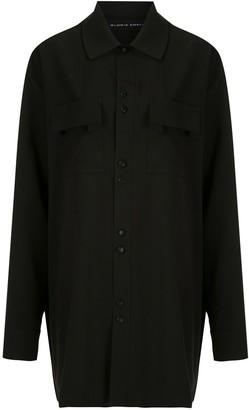 Gloria Coelho Buttoned Up Oversized Shirt