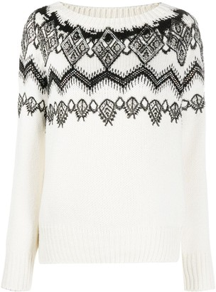 Ermanno Scervino Patterned Jumper
