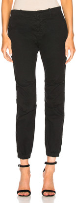 Nili Lotan French Military Pant in Black | FWRD