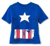 Toddler Boys' Captain America Tee with Detachable Shield