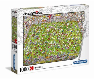 Clementoni Puzzle Mordillo - The Match - 1000pcs