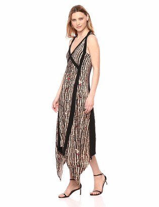BCBGMAXAZRIA Azria Women's Asymmetric Dress