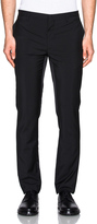 Lanvin Contrast Band Wool Mohair Trousers