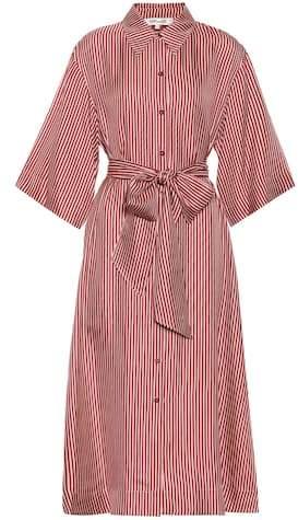 Diane von Furstenberg Striped silk dress
