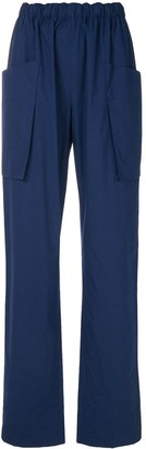 Cédric Charlier Tie-Back Trousers